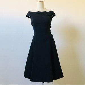 Amazing Vintage Off Shoulder Prom Dress